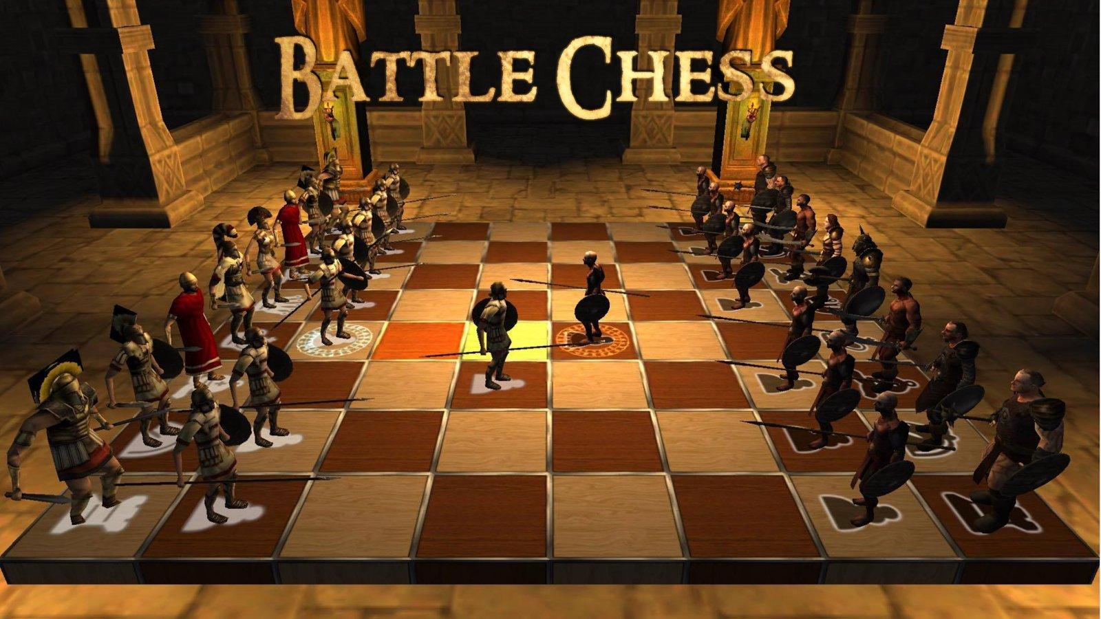 Живые шахматы в картинках
