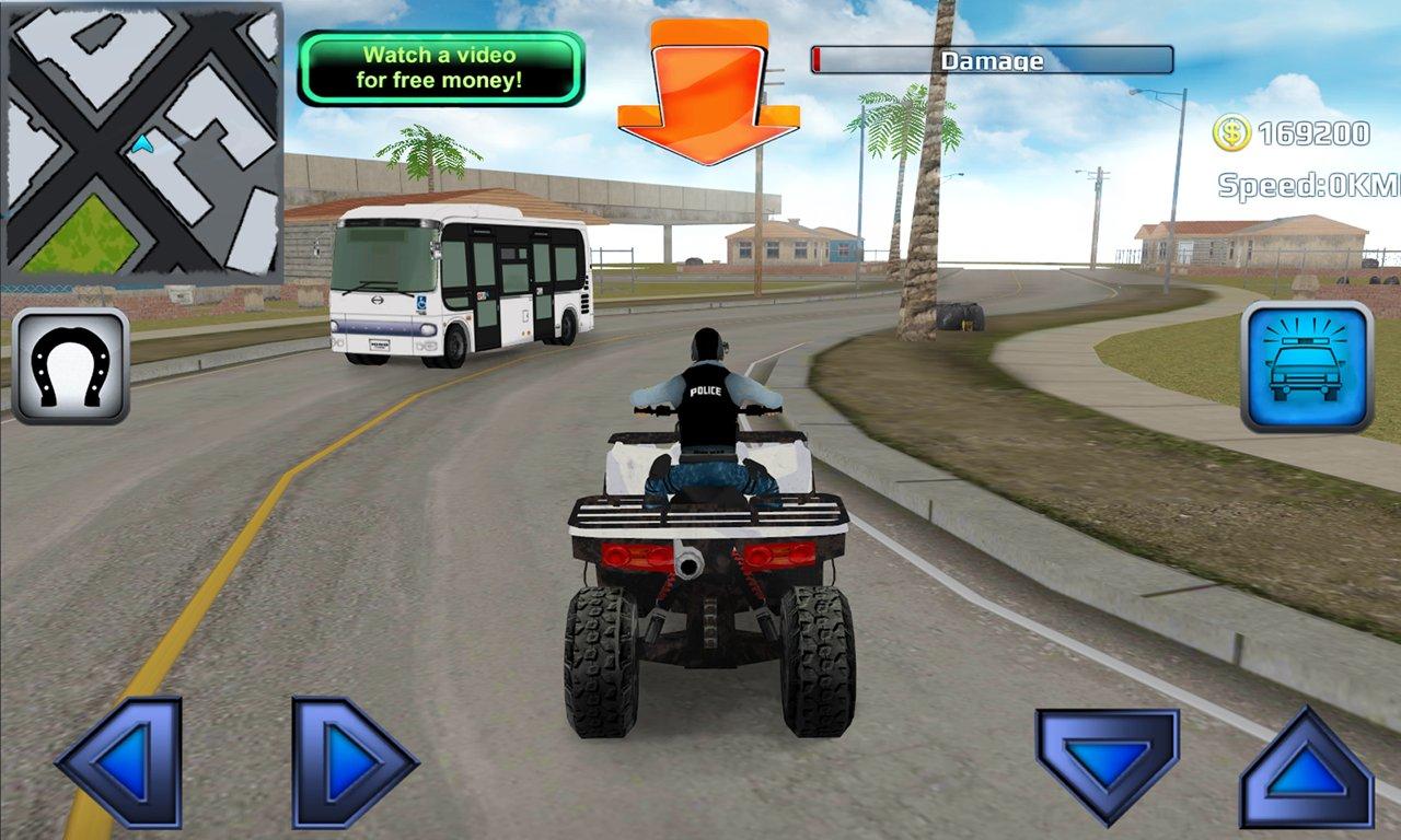 police quad chase simulator 3d скачать 11 apk на android