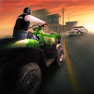 Police Quad Chase Simulator 3D