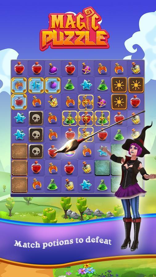игры ежедневные magic puzzles