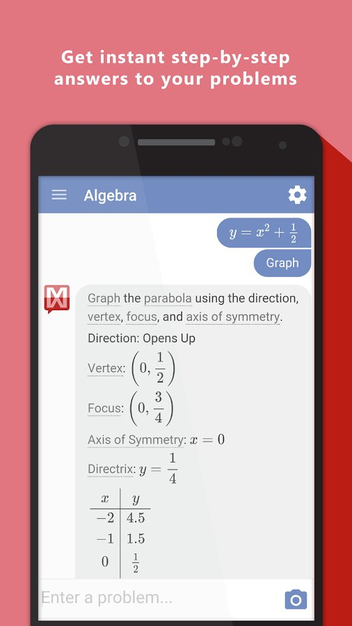 written math problem solver