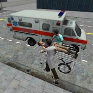 Ambulance Parking 3D Extended