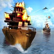 Secret Stealth Warship Combat