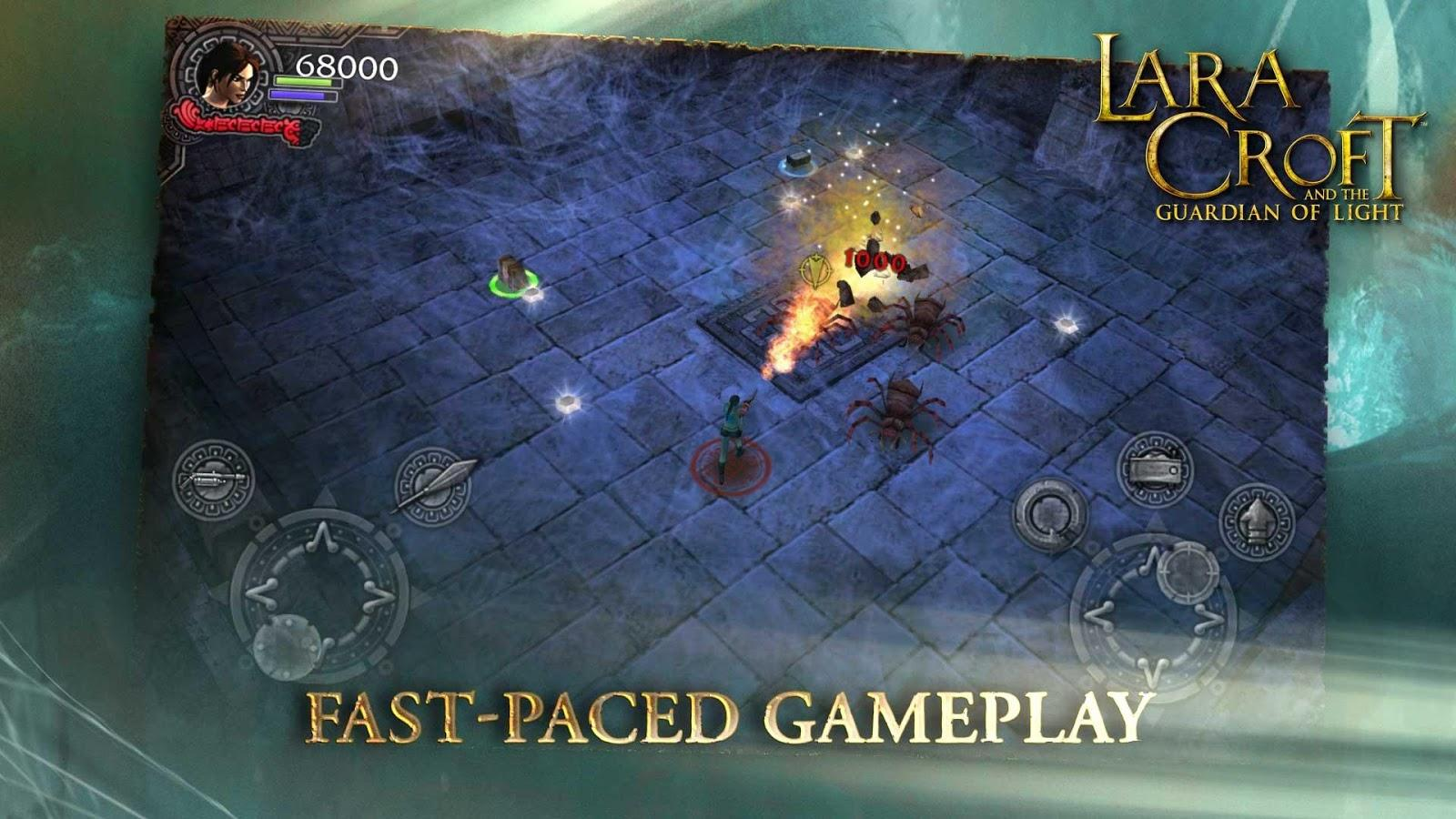 Lara Croft: Relic Run на андроид - top-android.org