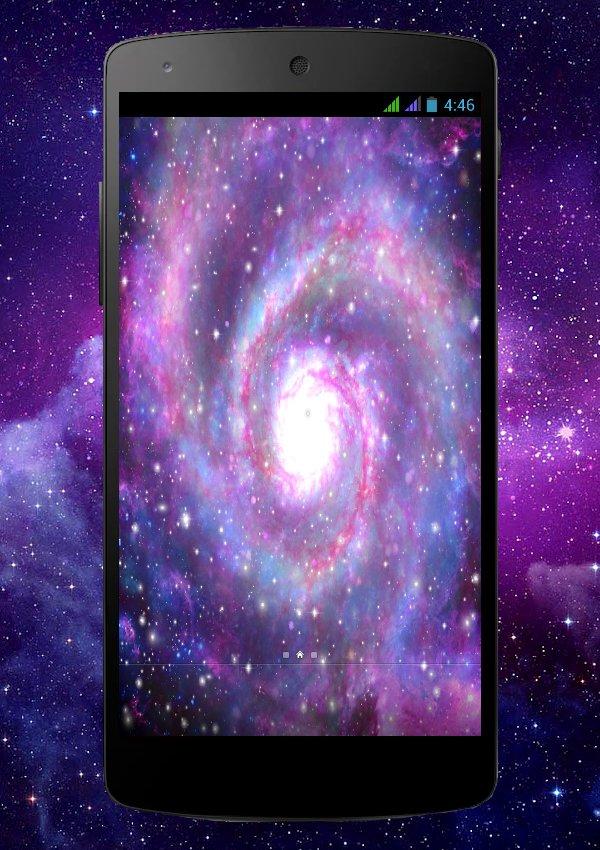 Galaxy Live Wallpaper скачать 1.0.0 APK на Android