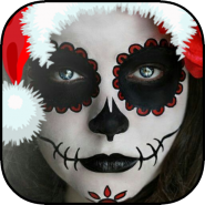 Christmas Face Makeup