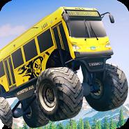 Crazy Monster Bus Stunt Race