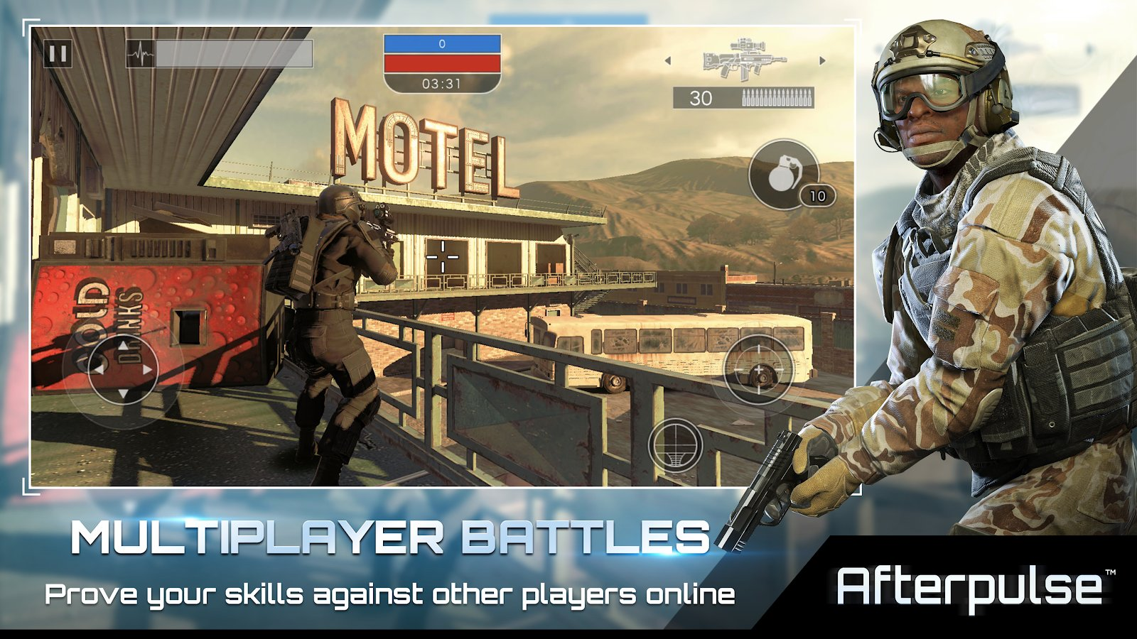 Afterpulse Screenshot