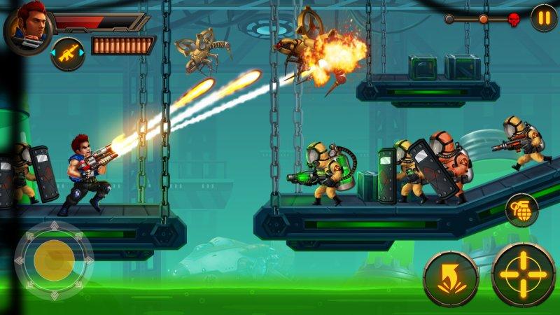 Metal Squad Screenshot
