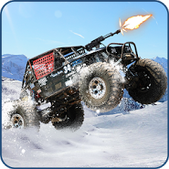 Snow Buggy Car Death Race 3D