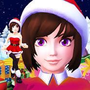 Santa Girl Run Xmas & Advent