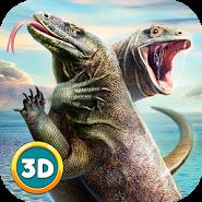 Komodo Dragon Lizard Simulator