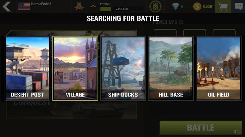 War Machines Tank Shooter Game Screenshot