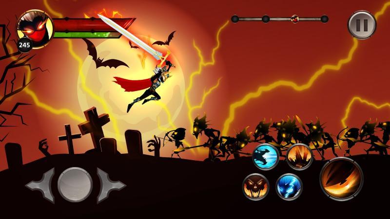Stickman Legends - Ninja Warriors: Shadow War Screenshot