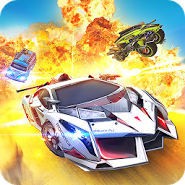 Overload: 3D MOBA Car Shooting
