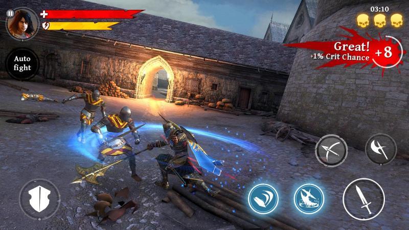 Iron Blade A Espada de Ferro Android screenshot