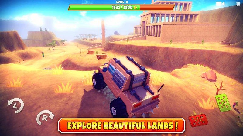 Zombie Offroad Safari screenshot