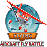 Flying. Aircraft Fly Battle