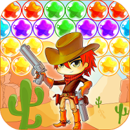Cowboy Johnny Bubble Shooter
