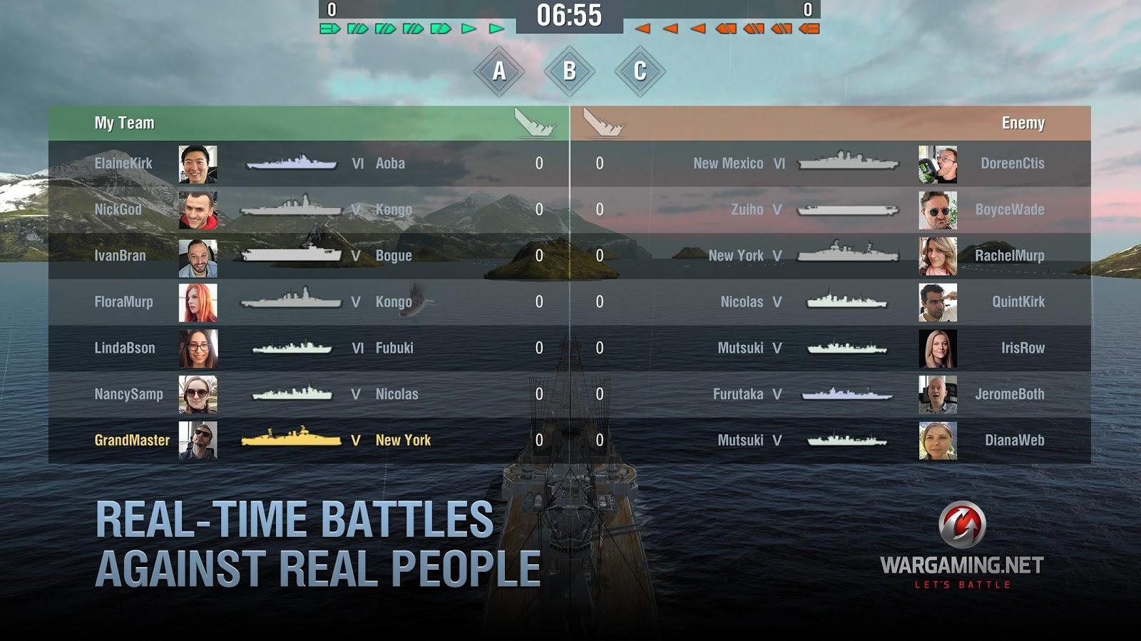 world of warships скачать на андроид