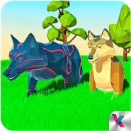 Wolf Simulator Fantasy Jungle