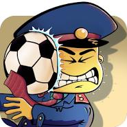 Тюремный футбол!