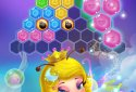 Flower Secret - Hexa block puzzle & Gems eliminate