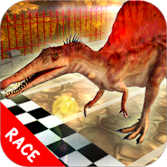Dino Pet Racing Game : Spinosaurus Run !!