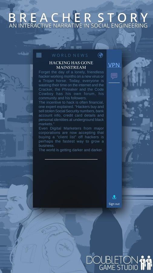 Breacher Story Screenshot