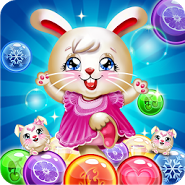 Bunny Bubble Shooter Pop: Magic Match 3 Island