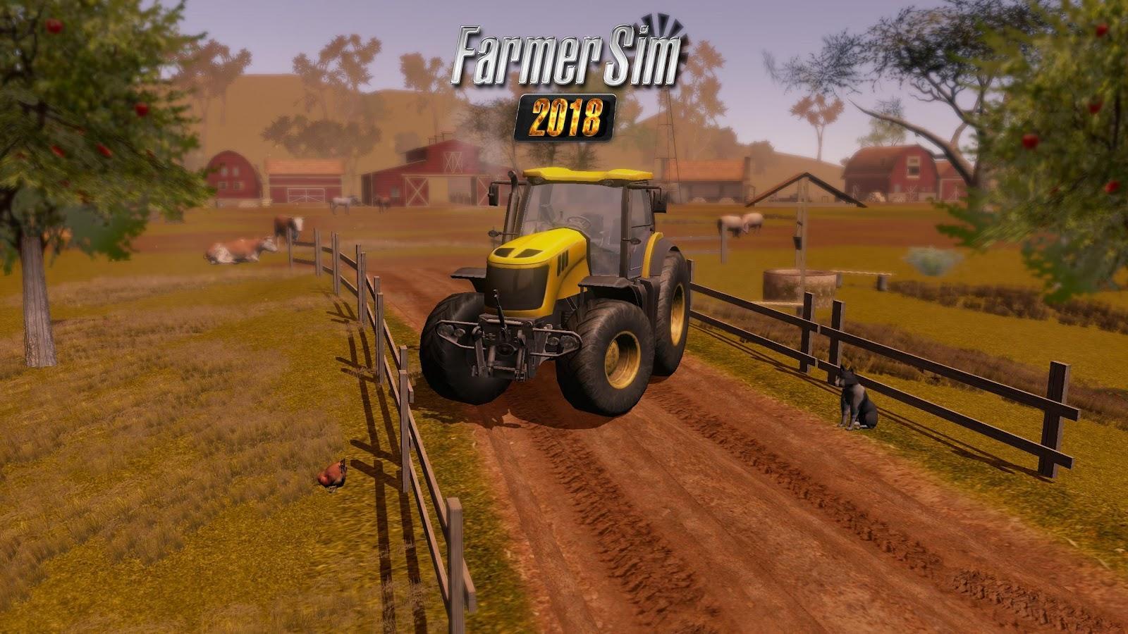 Моды на professional farmer 2018 скачать бесплатно