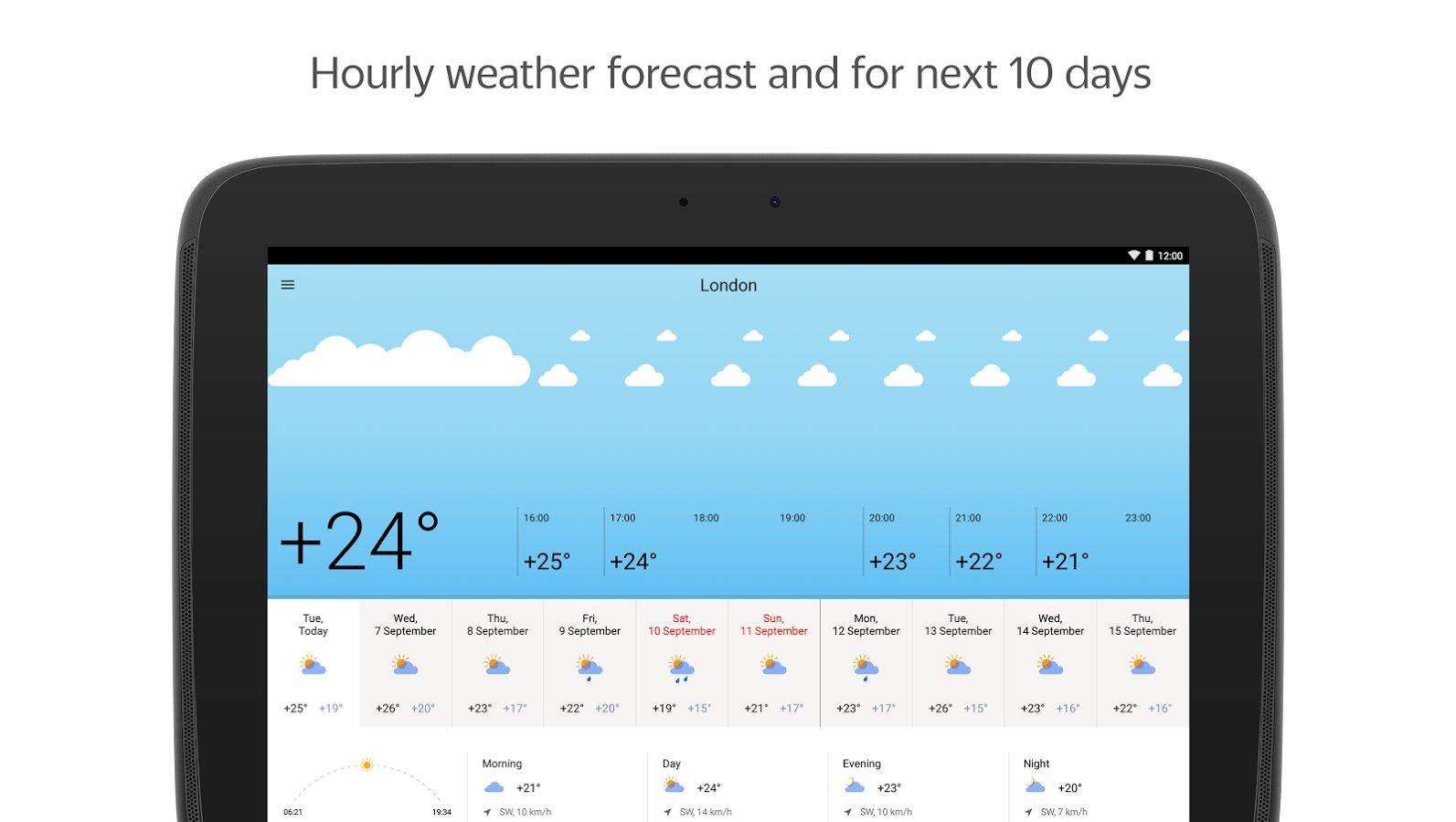 яндекс погода apk