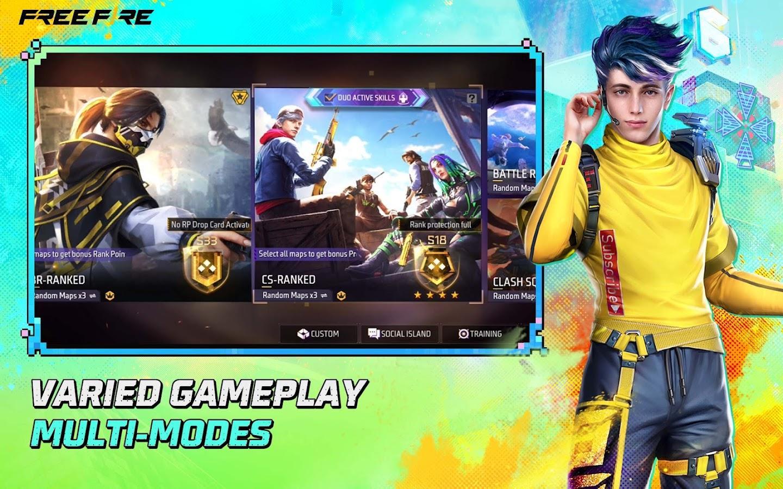 Free Fire - Battlegrounds Screenshot