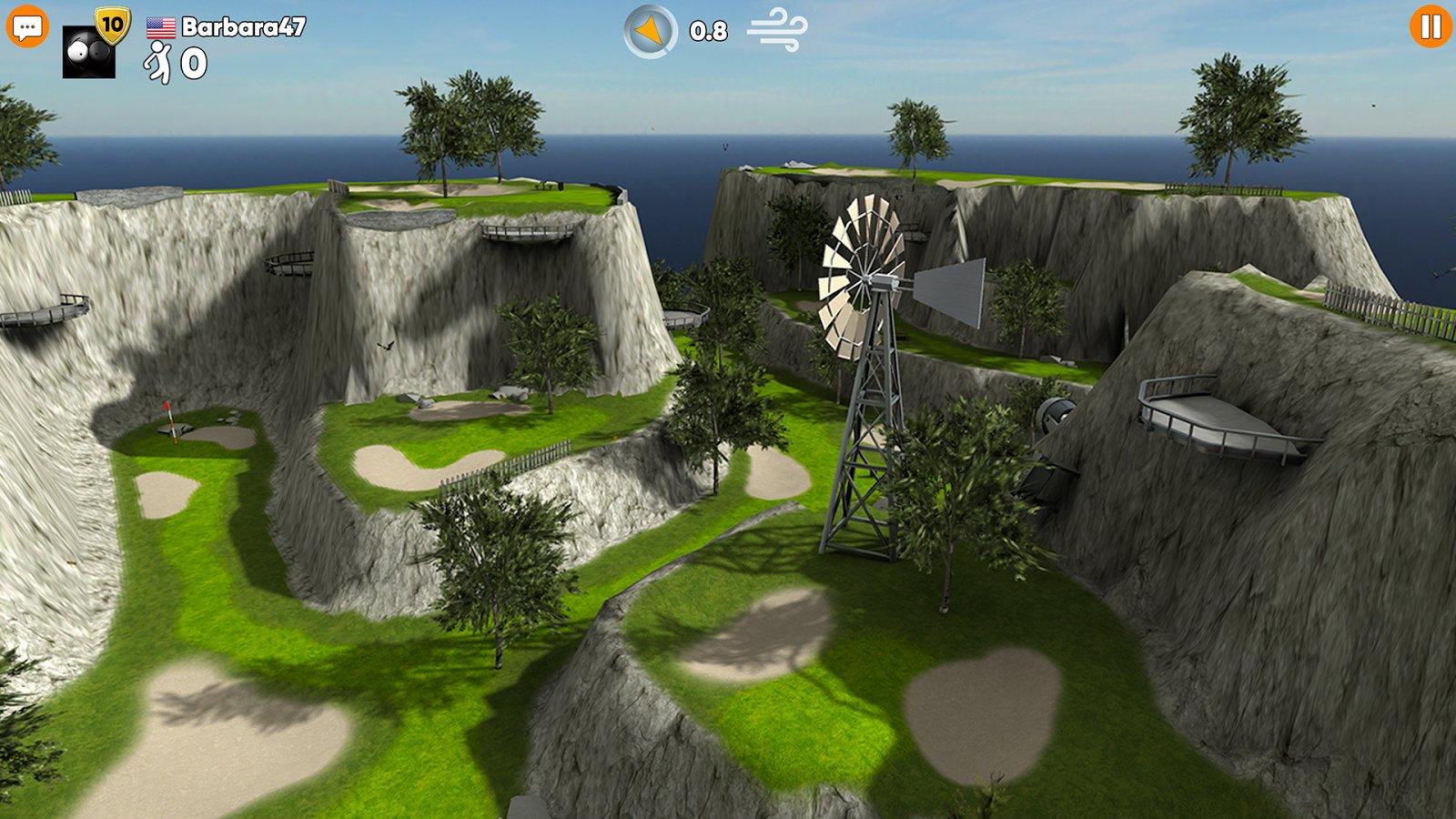 Stickman Cross Golf Battle Screenshot