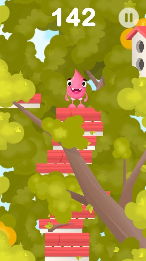 Игра прыгающий шарик на андроид