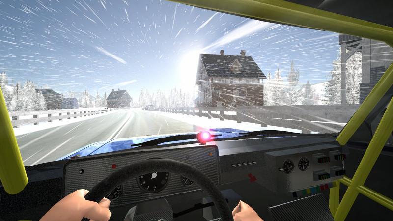 Iron Curtain Racing - car racing game Screenshot