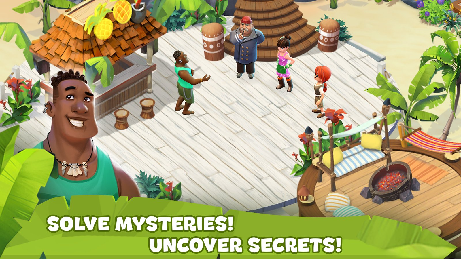 Mystery Island Blast Adventure Screenshot