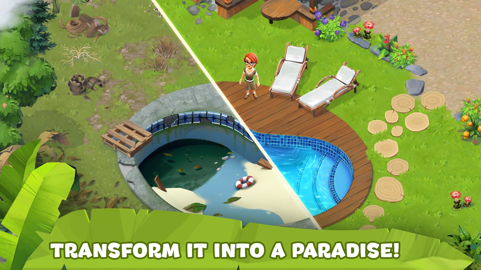 Mystery Island Blast Adventure Screenshot