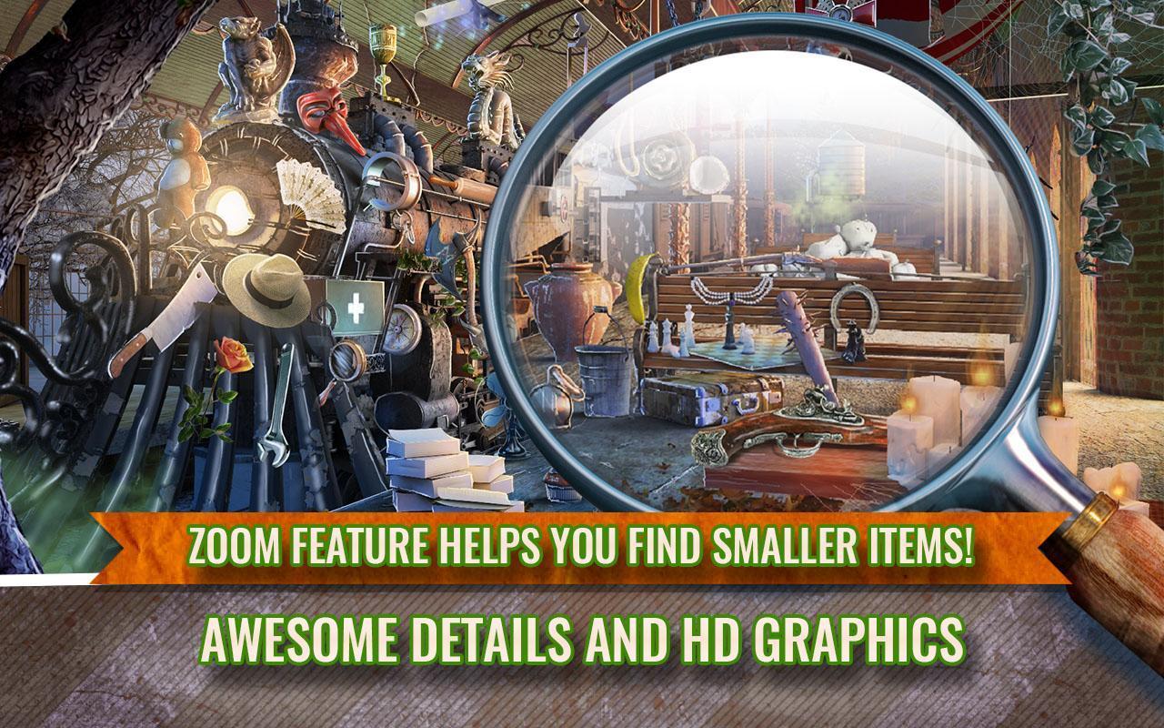 Train of Fear Hidden Object Mystery Case Game Screenshot