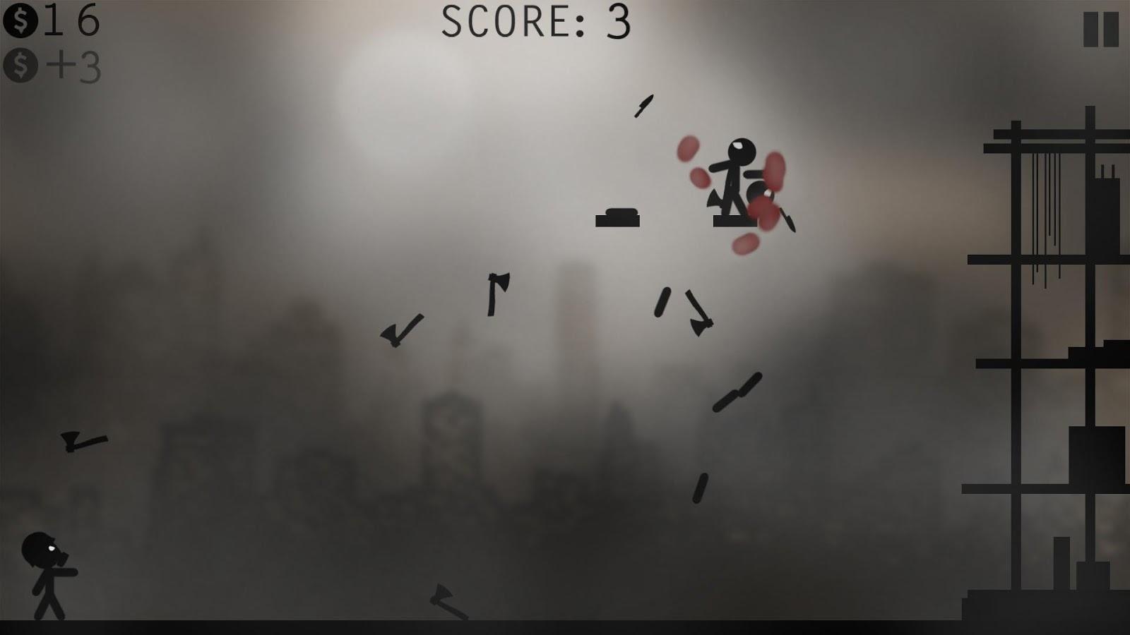Knife Attacks - Stickman Battle Screenshot
