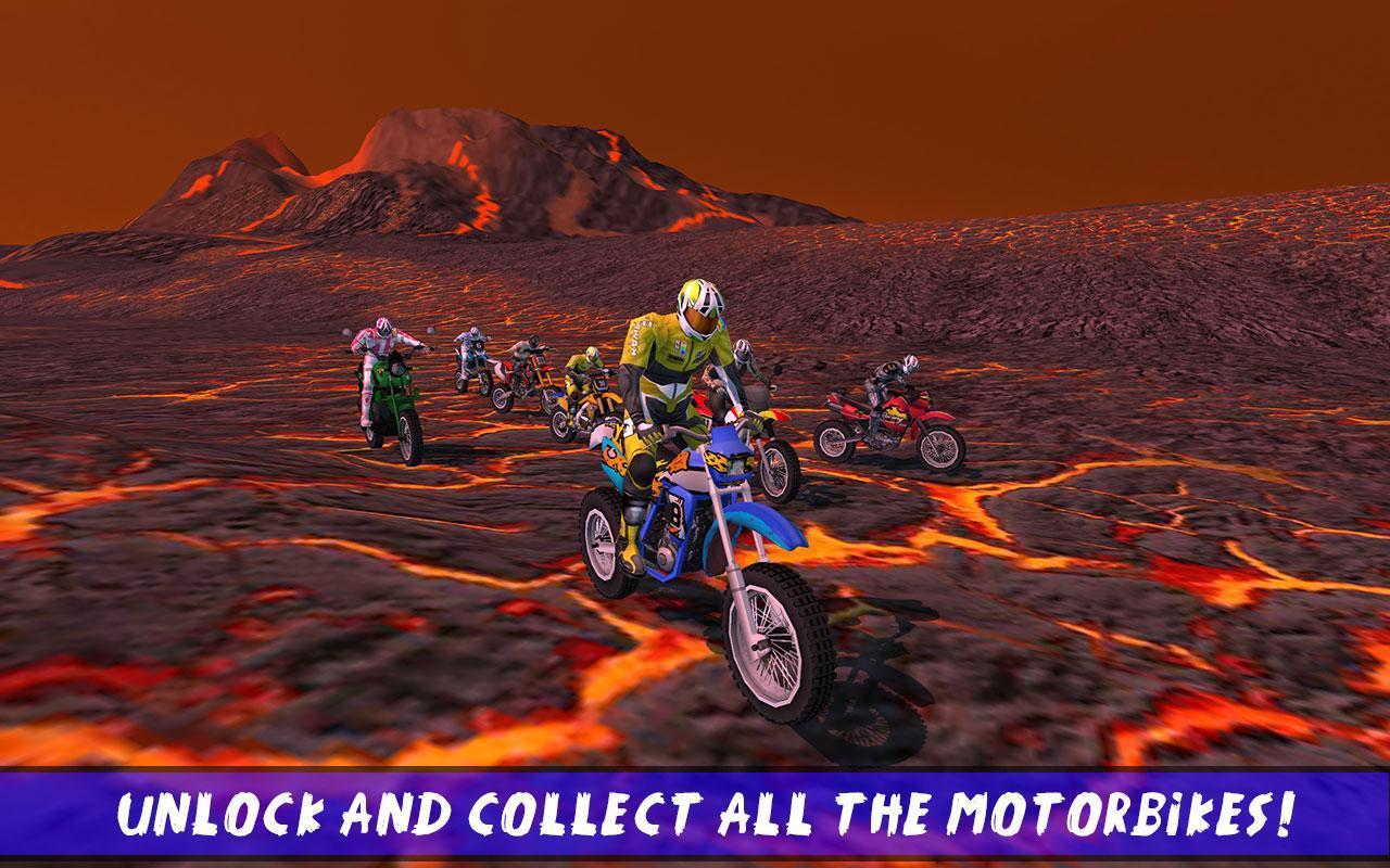 Hill Bike Galaxy Trail World 2 Screenshot