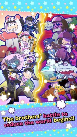 Osomatsu-san Hesokuri Wars~Battle of the NEETs Screenshot