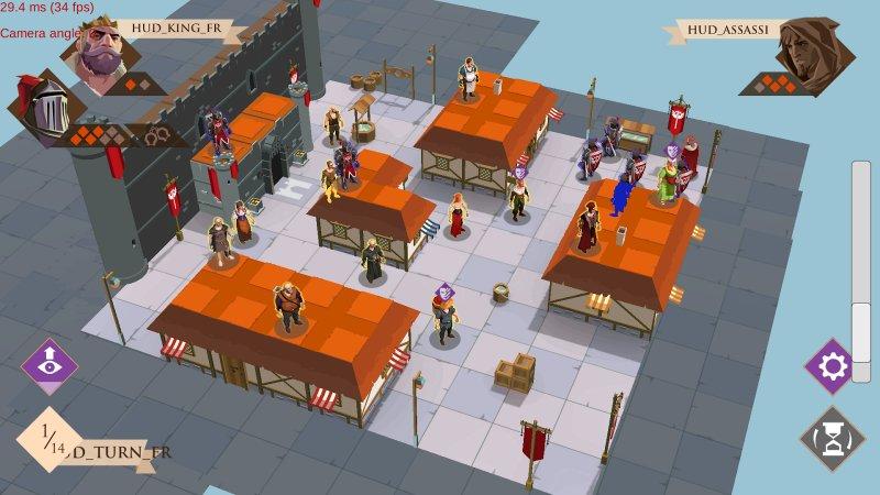 King and Assassins Screenshot
