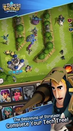 SuperTactics: Realtime Battles Screenshot