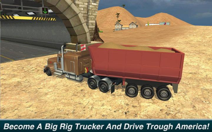 Offroad Truck Driver: Outback Hills Screenshot