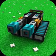 Power Tanks 3D - Hardcore Craft Battle