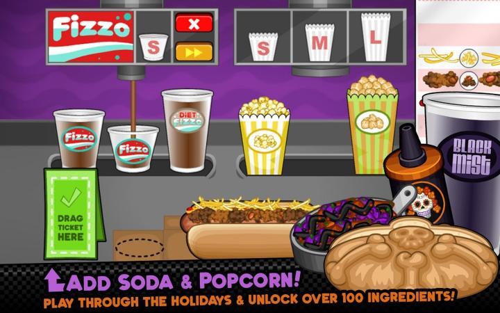Papa's Hot Doggeria HD Screenshot