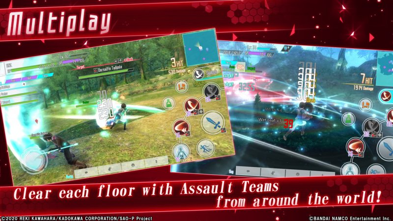 Sword Art Online: Integral Factor Screenshot