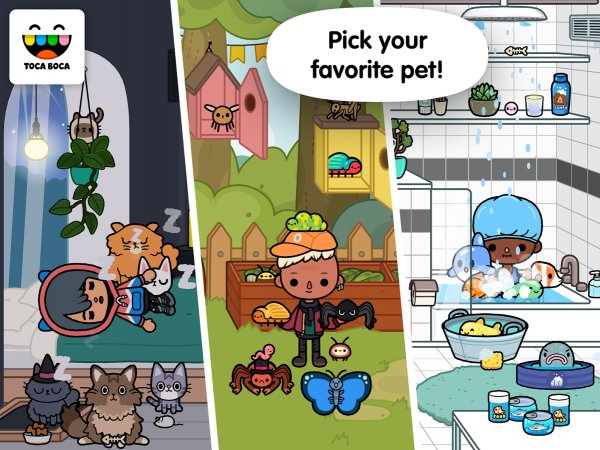 Toca Life: Pets Screenshot