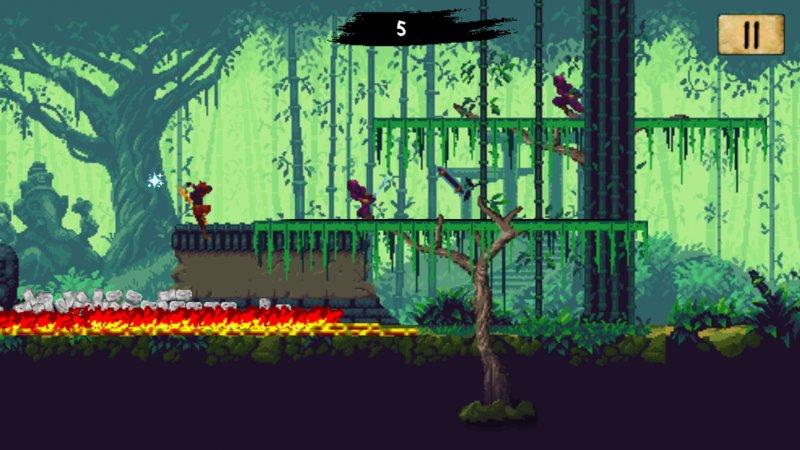 Ninja Scroller - The Awakening Screenshot